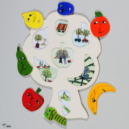 9010 Steckpuzzle Obstbaum